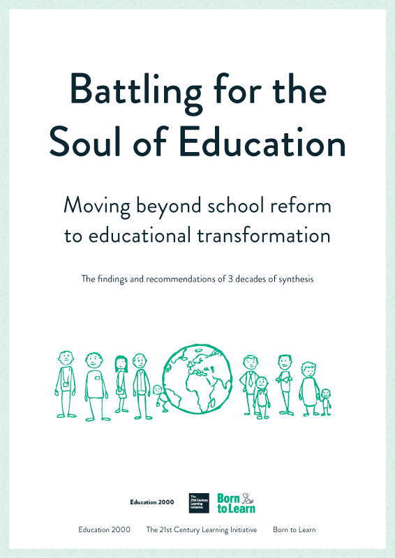 Battling for the Soul of Education Cover